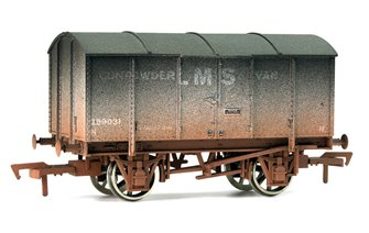 LMS Gunpowder Van #299031 - Weathered