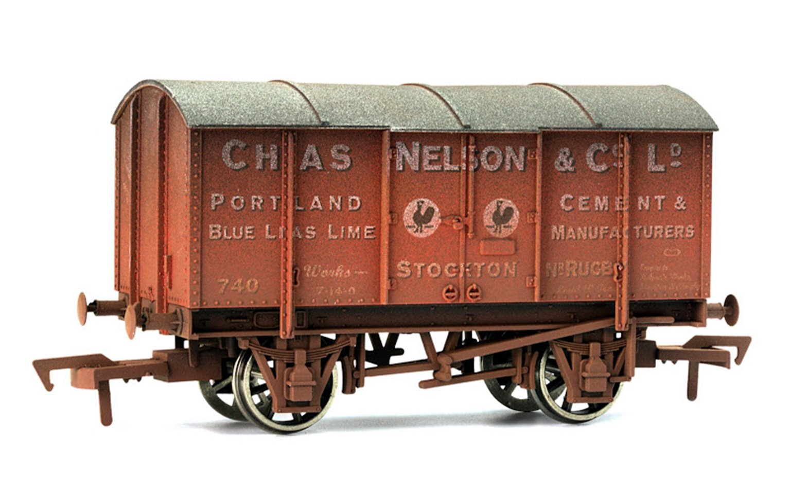 Chas Nelson Gunpowder Van - Weathered