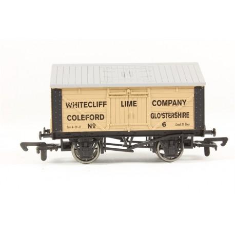 4F-017-016 Dapol OO Gauge Lime Wagon Whitecliffe 6 Weathered