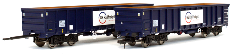 MJA GBRF Bogie Box Van 502027 & 028