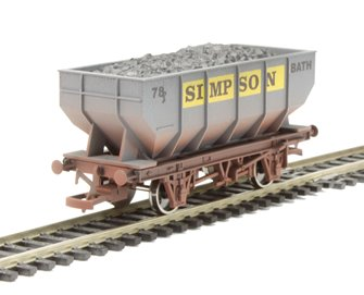 Dapol 4F-034-109 21T Hopper Simpson 78 Weathered