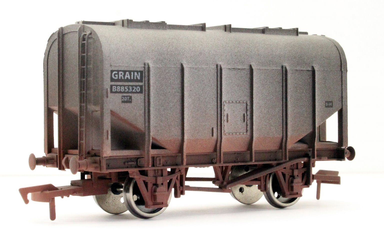 Bulk Grain Hopper BR B885320 Weathered