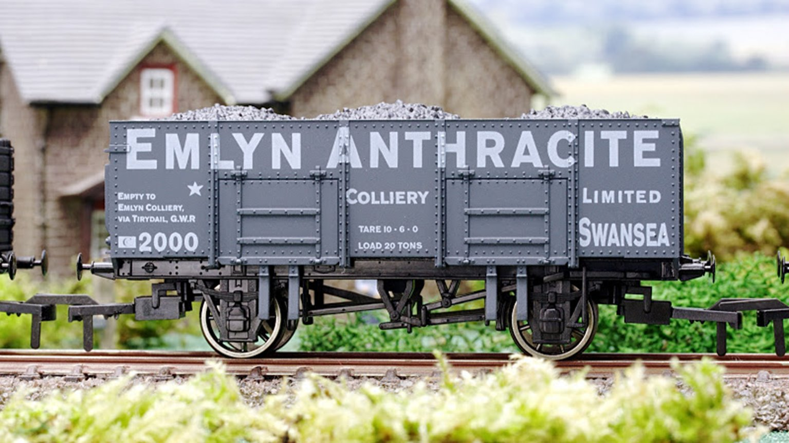 Emlyn Anthracite 20 Ton Steel Mineral Wagon
