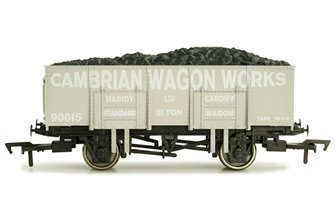 Dapol 4F-038-108 20t Steel Mineral Wagon Cambrian Wagon Works #90015