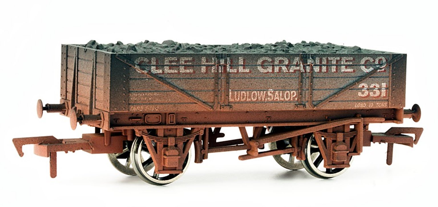Clee Hill Granite 4 Plank Wagon - Weathered