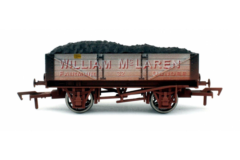 4 Plank Wagon McLaren 27 Weathered
