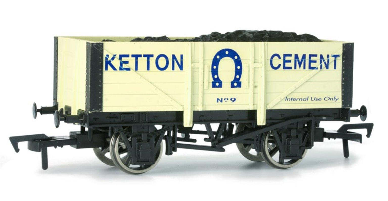 Ketton Cement 5 Plank Wagon