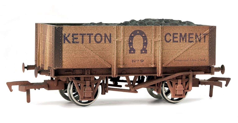 Kelton Cement 5 Plank Wagon - Weathered