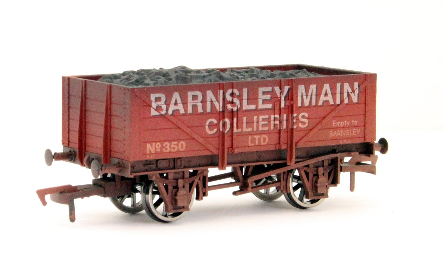 5 Plank Wagon Barnsley Main Weathered