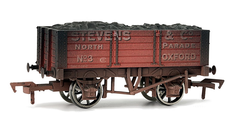 Stevens & Co 5 Plank Wagon 9ft Wheelbase - Weathered