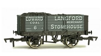 Dapol 4F-052-009 5 Plank Edward Langford 9 Ft Wheelbase