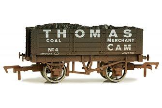 5 Plank Wagon 9' Wheelbase Thomas 4 Weathered