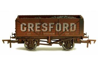 Dapol 4F-071-137 7 Plank Wagon Gresford Wrexham 225 Weathered
