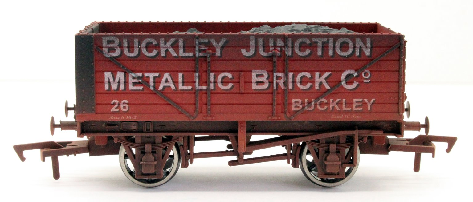7 Plank Wagon Buckley Junction 26 Weathered
