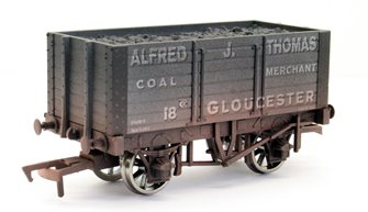7 Plank Wagon 9ft Wheelbase Alfred J Thomas 18 Weathered