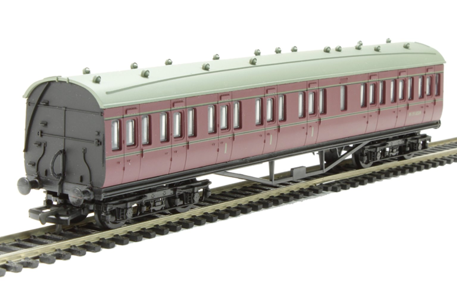 57ft Stanier Comp Non Corridor BR Lined Maroon M19185M