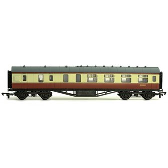57 FT Stanier Corridor Brake BR Carmine & Cream M5532M