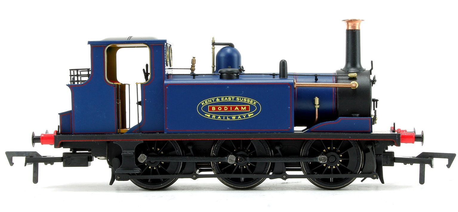 Stroudley Terrier A1 Class 'Bodiam' KESR Blue 0-6-0 Tank Locomotive DCC Ready