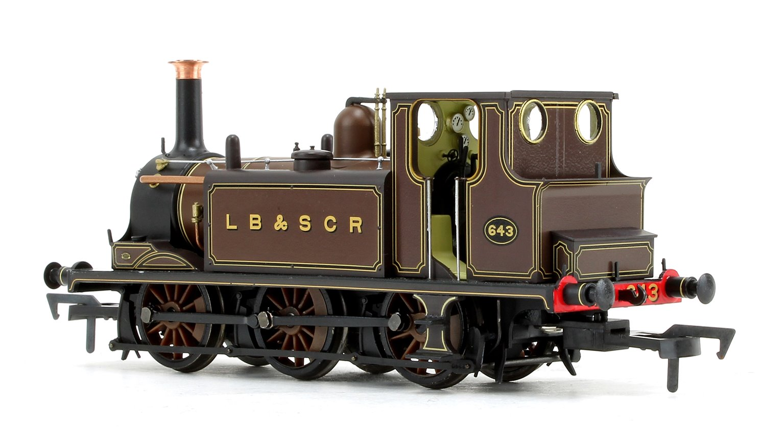 Stroudley Terrier A1 Class LBSC (Ex Gipsyhill) 0-6-0 Tank Locomotive No.643 DCC Ready