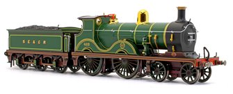 Wainwright D Class SECR Green 4-4-0 Steam Locomotive No.488 (Pre Grouping Silk Finish)