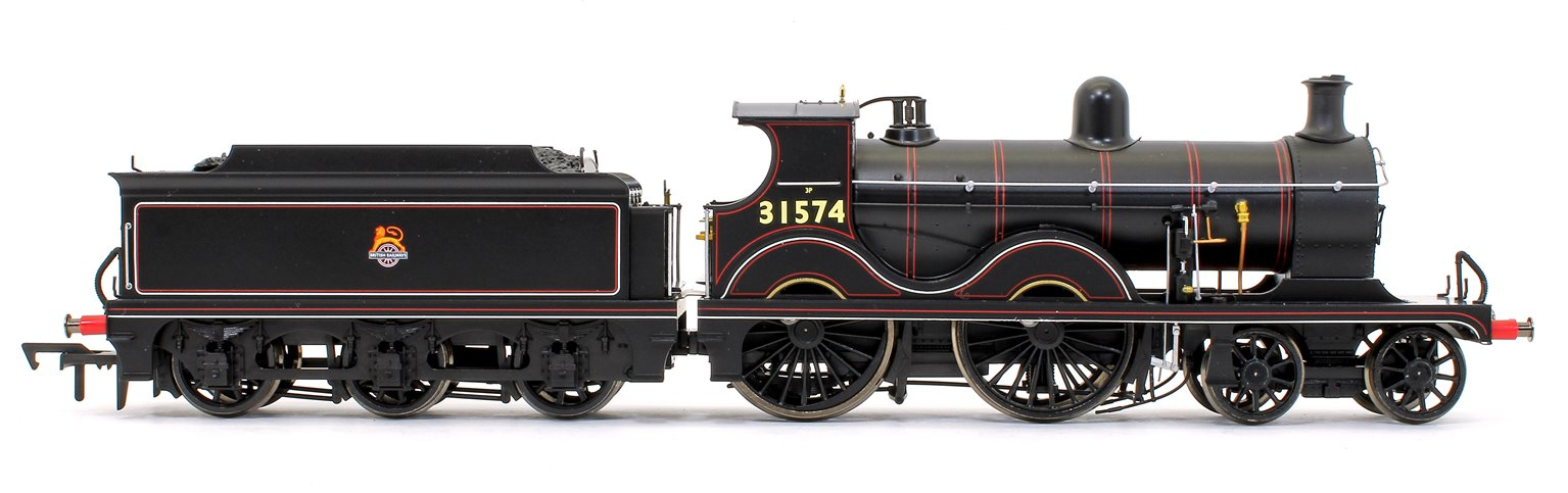 Wainwright D Class BR Lined Black Early Crest 4-4-0 Steam Locomotive No.31574