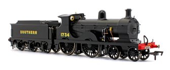 Wainwright D Class Southern Sunshine 4-4-0 Steam Locomotive No.1734