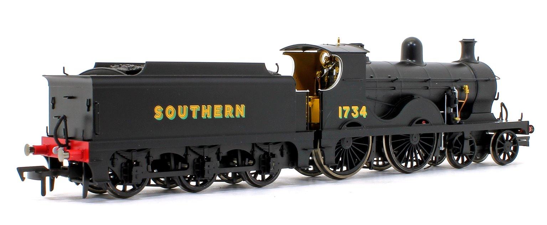 Wainwright D Class Southern Sunshine 4-4-0 Steam Locomotive No.1734