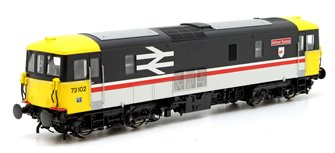Class 73 102 'Airtour Suisse' Intercity Diesel Electric Locomotive