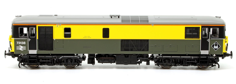 Class 73 138 Civil Engineers Dutch Grey/Yellow Diesel Locomotive