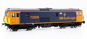 Class 73 73206 'Lisa' GB Rail Freight Blue/Yellow DCC Sound