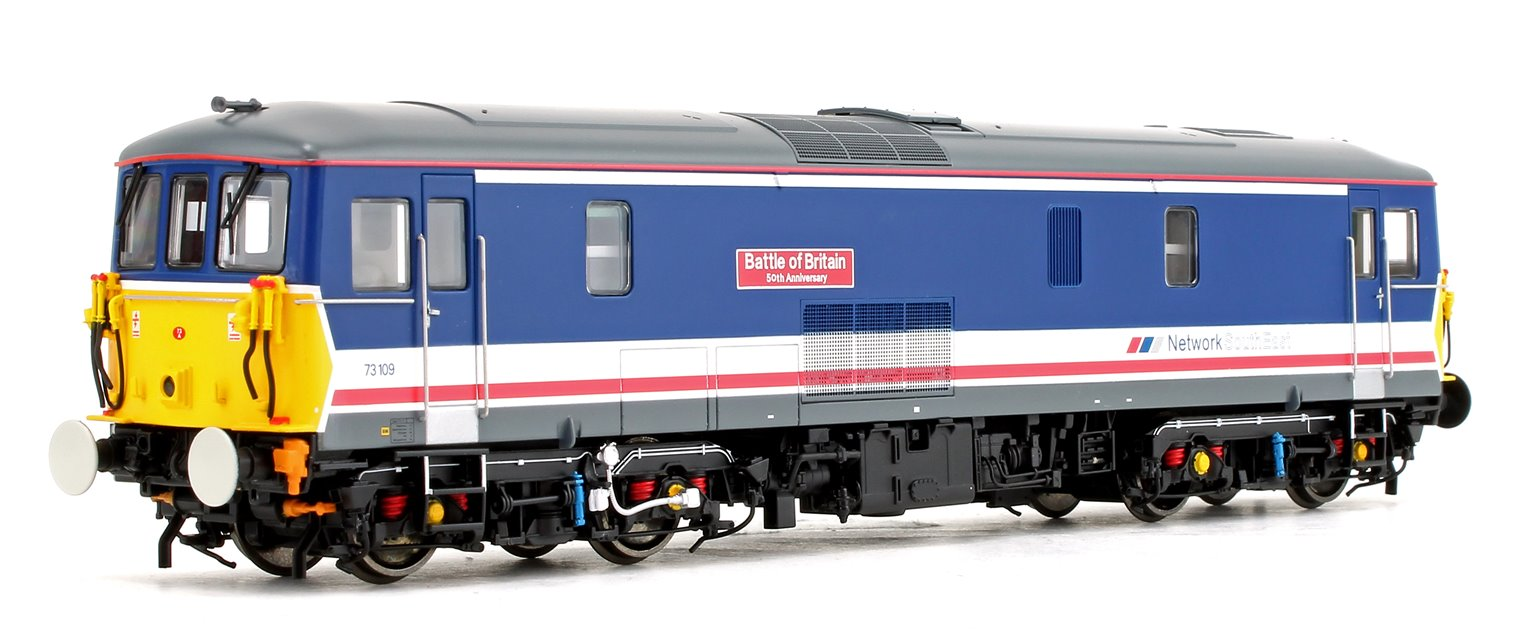 Class 73 109 'Battle of Britain' Network South East Diesel Locomotive DCC Sound Fitted