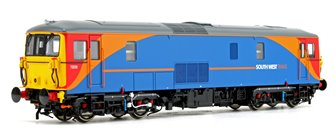 Class 73 235 South West Trains (Blue/Orange/Red Livery) Diesel Locomotive DCC Sound Fitted