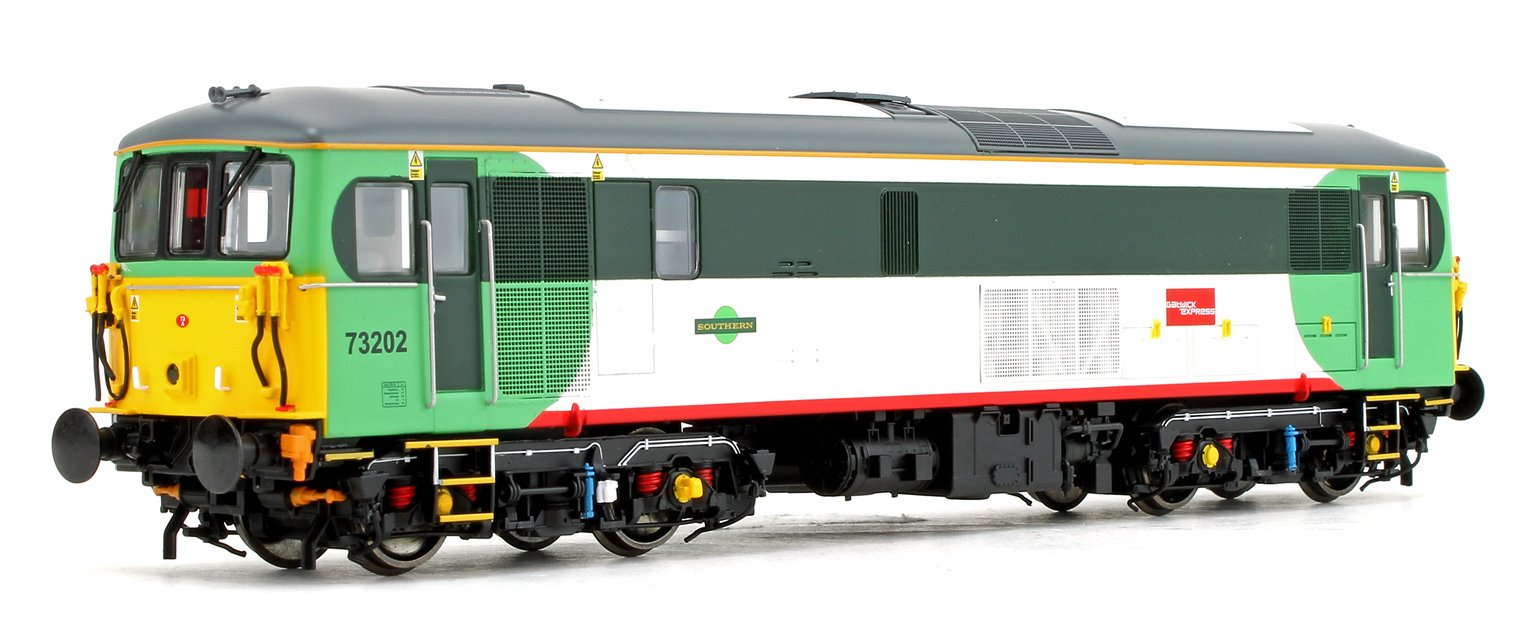 Class 73 202 Southern 'Gatwick Express' Diesel Locomotive DCC Fitted