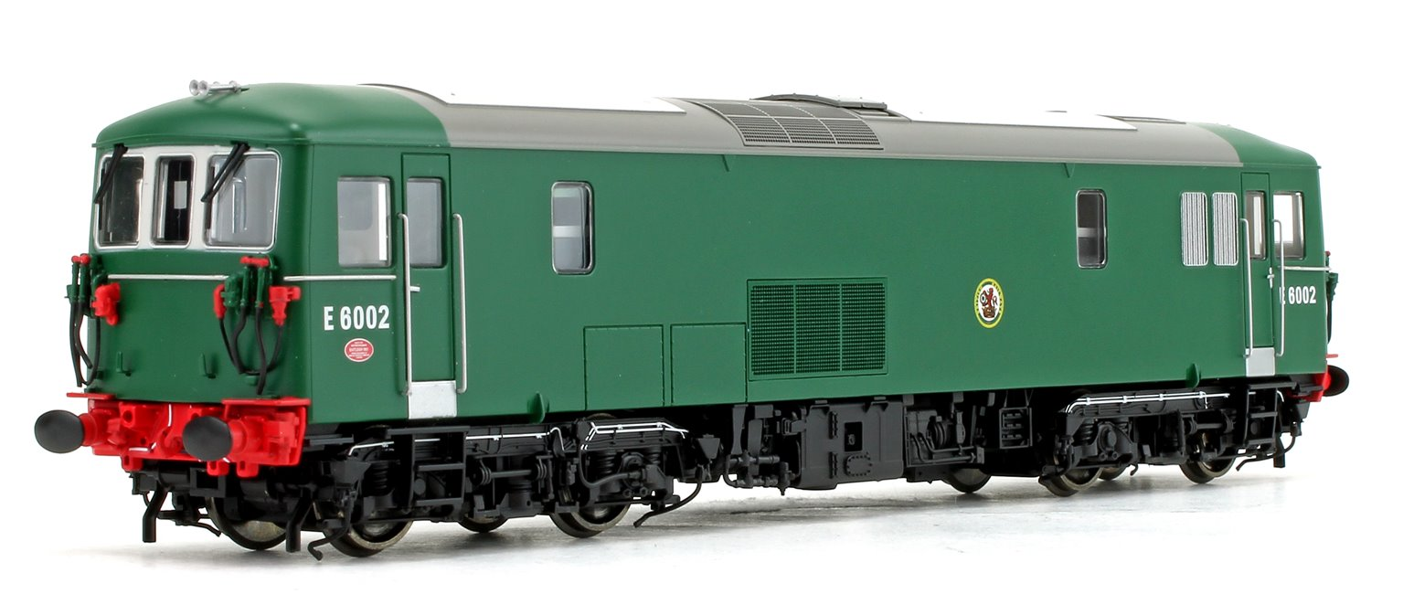Class 73 E6002 BR Green NYP Diesel Locomotive DCC Fitted