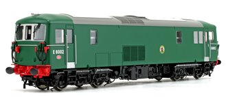 Class 73 E6002 BR Green NYP Diesel Locomotive DCC Sound Fitted