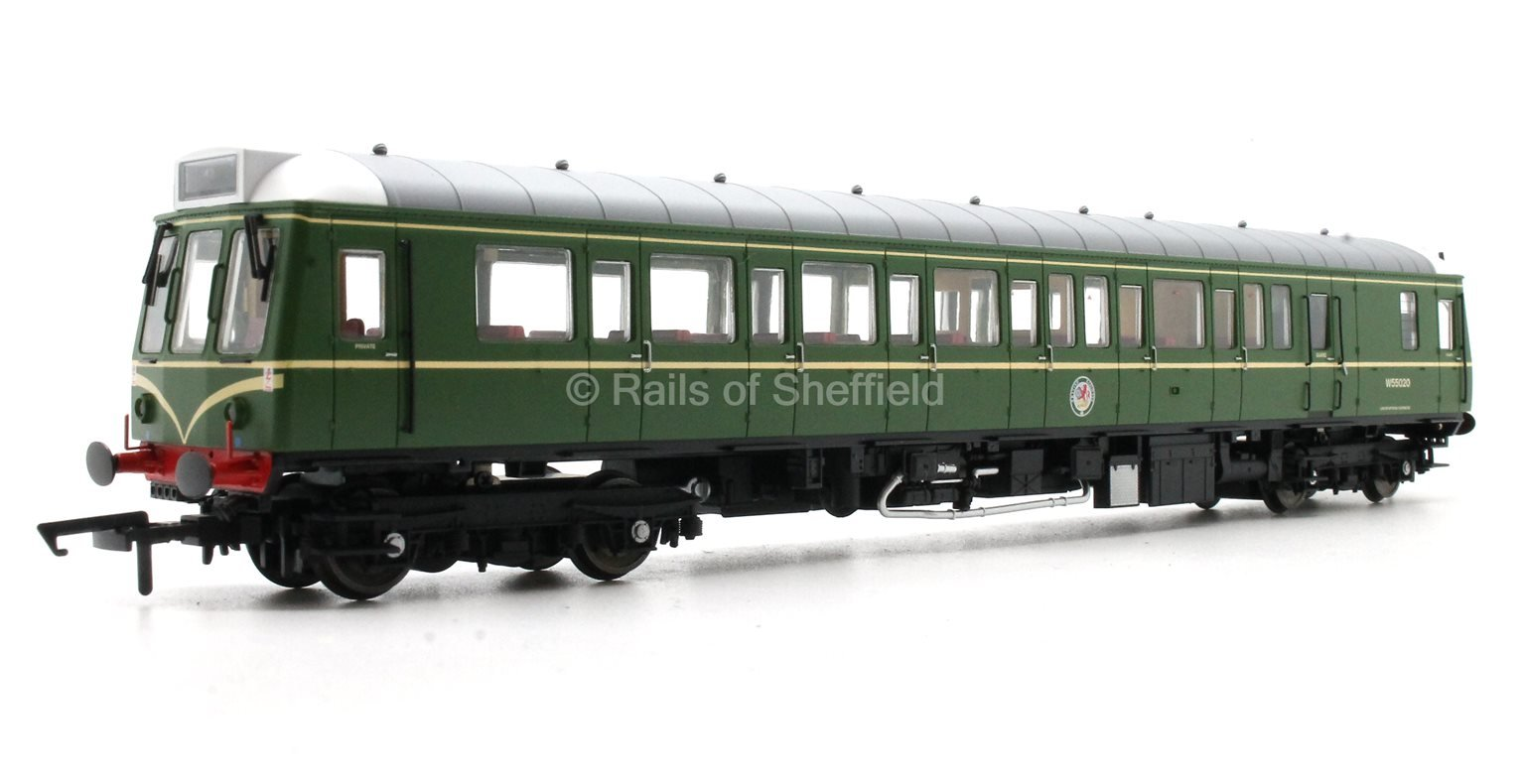 Class 121 #W55020 BR Green with Whiskers - DCC Fitted
