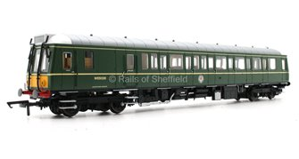 Class 121 #W55028 BR Green Small Yellow Panel - DCC Fitted