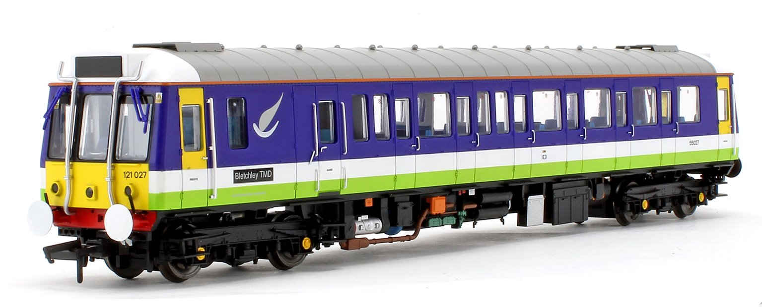 Class 121 Bubble Car Silverlink Diesel Locomotive No.55027 - DCC Fitted