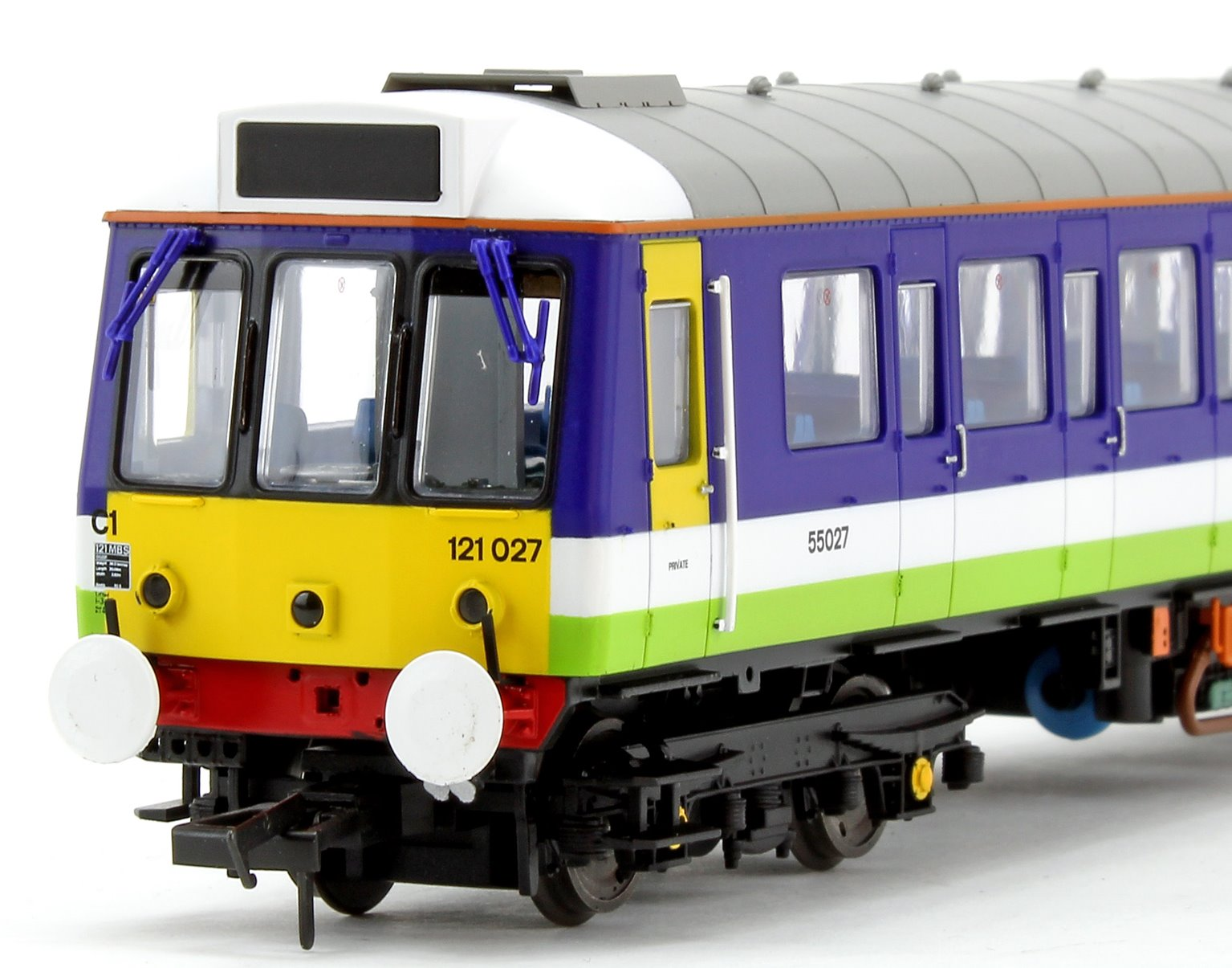 Class 121 Bubble Car Silverlink Diesel Locomotive No.55027
