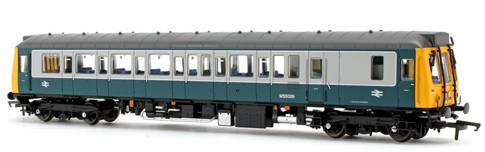 Class 121 Bubble Car BR Blue Grey Highland Stag Diesel Locomotive No.55026