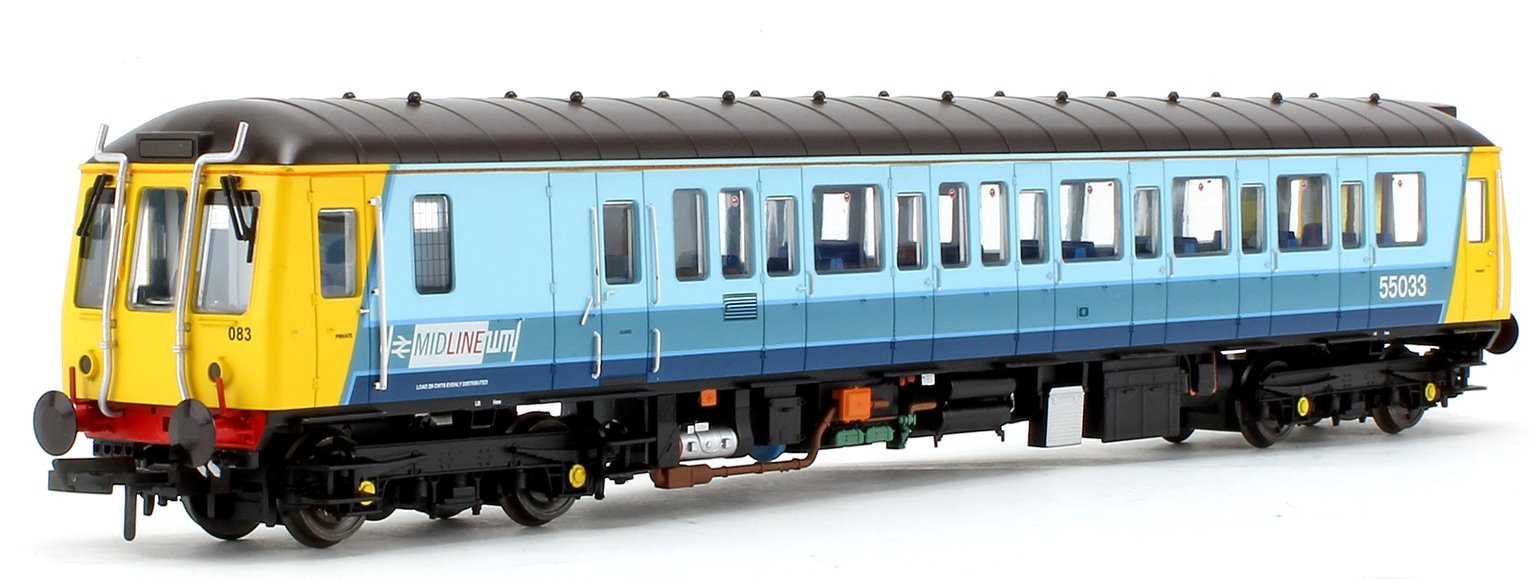 Class 121 Bubble Car Midline Diesel Locomotive No.55033 - DCC Fitted