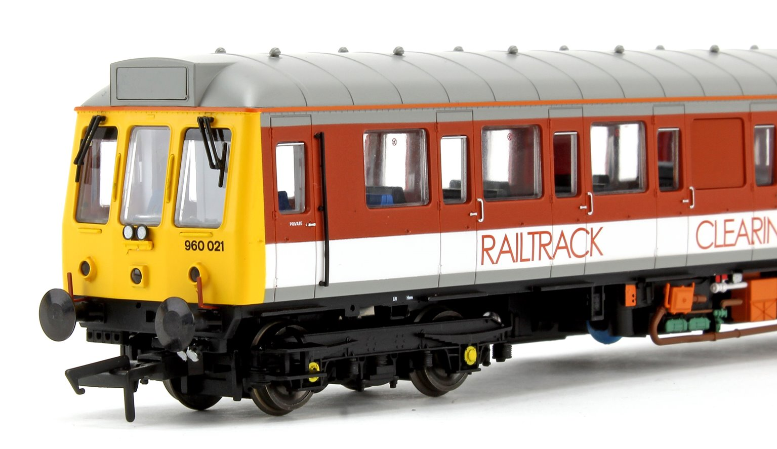 Class 121 Bubble Car Railtrack 'Clearing the way' Diesel Locomotive No.977723 - DCC Fitted