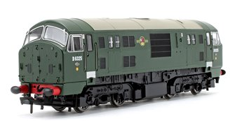 Class 22 D6325 BR Green Font A Disc Headcode - DCC Fitted