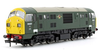 Class 22 D6331 BR Green FYE Font A Headcode - DCC Fitted