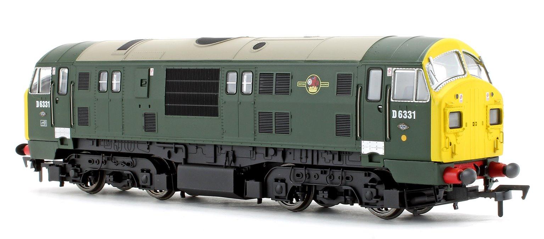 Class 22 D6331 BR Green FYE Font A Headcode