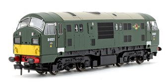 Class 22 D6321 BR Green SYP Serif Font A Headcode - DCC Fitted