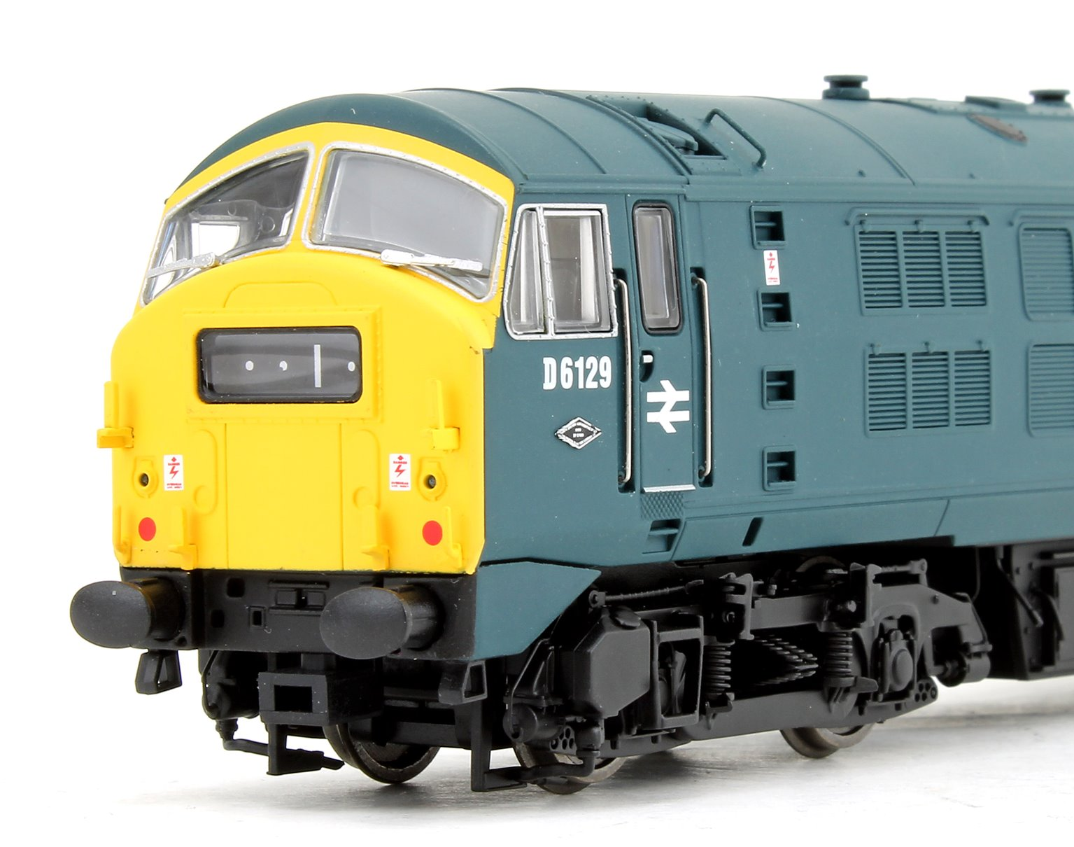 Class 29 #D6129 BR Blue Full Yellow Warning Panel