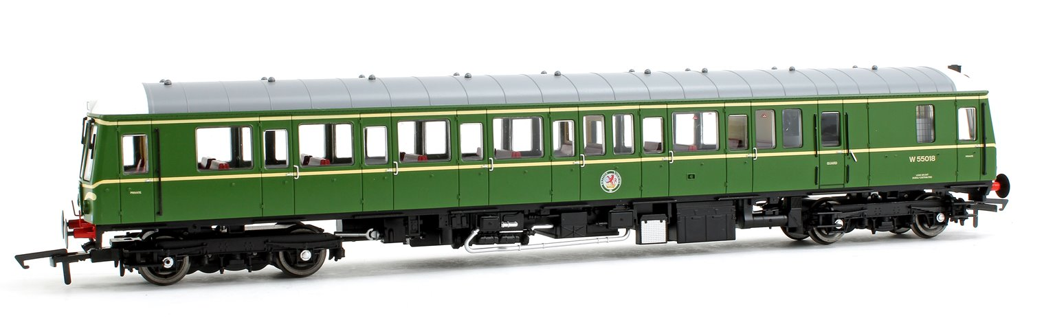 Class 122 55018 BR Green Speed Whiskers Diesel Locomotive