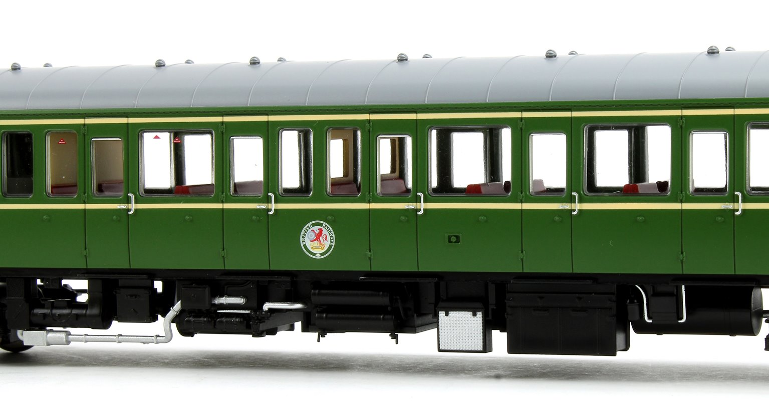 Class 122 55018 BR Green Speed Whiskers Diesel Locomotive DCC Fitted