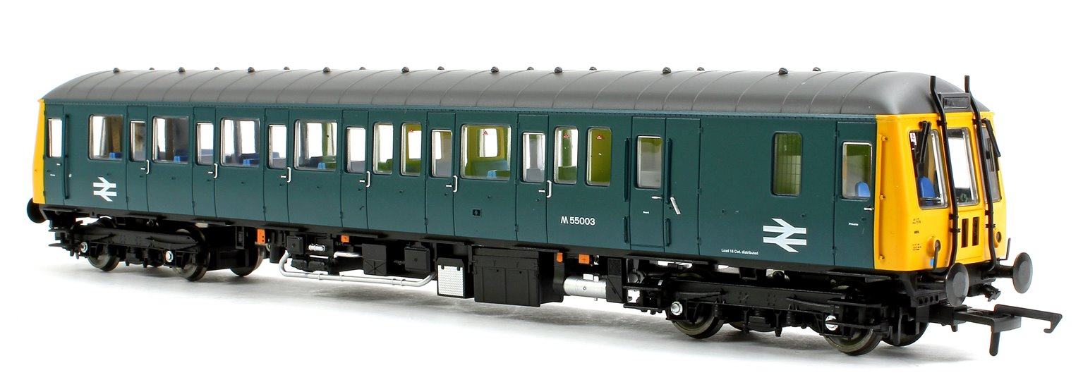 Class 122 55003 BR Blue Diesel Locomotive DCC Fitted